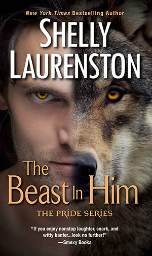 Book Cover for The Beast in Him, mass market edition