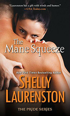 Book Cover for The Mane Squeeze, mass market edition